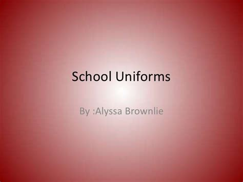 Disadvantages Of Wearing School Essay by School Uniforms