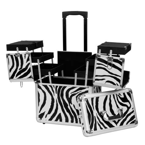 Hairstylist Travel Cases by Rolling Makeup Artist Aluminum Hair Stylist Lock