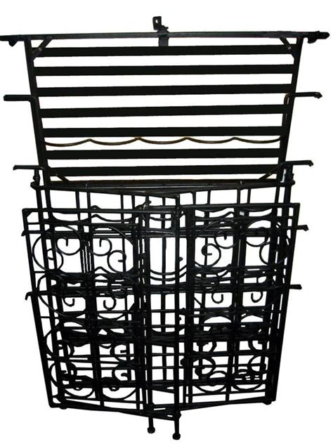 Folding Bakers Rack by Pangaea Home And Garden Folding Piper Baker S Rack