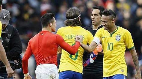 alexis sanchez honors neymar quot ser 237 a un honor enfrentarme a alexis s 225 nchez quot fc