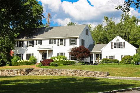 colonial homes colonial homes for sale in darien ct find and buy the
