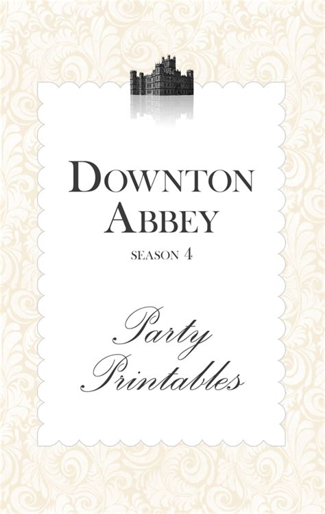 printable quotes from downton abbey downton abbey party ideas a night owl blog