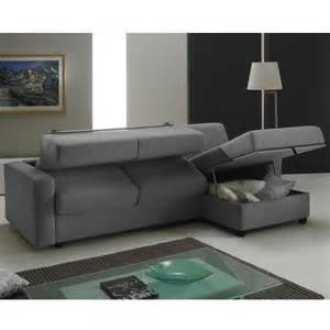 canap 233 d angle convertible rapido couchage 160