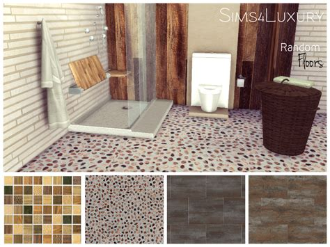 Cc Flooring by Random Tiles Floors Sims4luxury