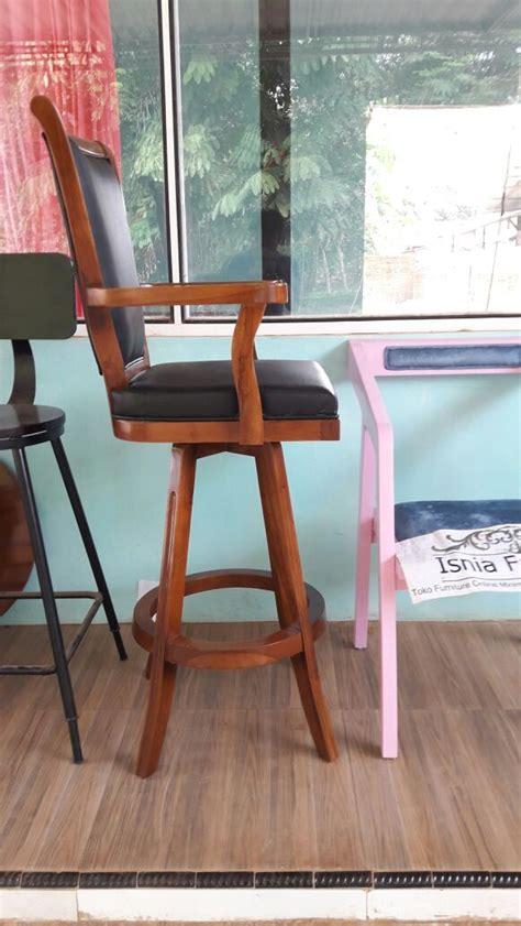 Kursi Bar Surabaya kursi bar tanganan kayu jati harga murah berkualitas awet tahan lama