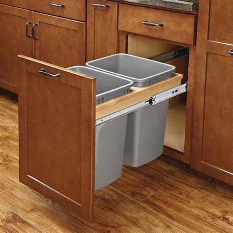 Kitchen Cabinet Trash Can Pull Out Blind Corner Kitchen Cabinet Ideas For Apartment Home Design