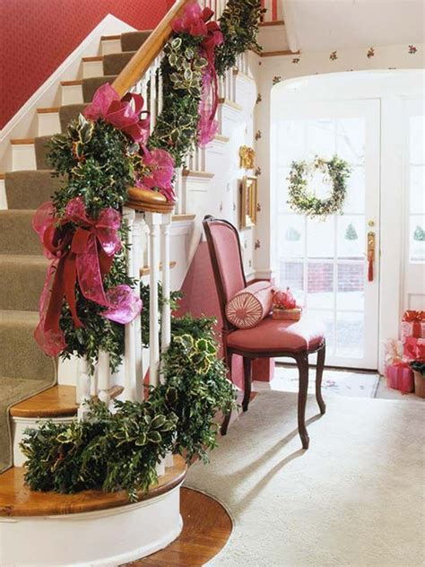 Banister Decor by 35 Amazing Staircase With Banister Ornaments