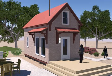 tiny home design homesteader s cabin v 2 updated free house plan
