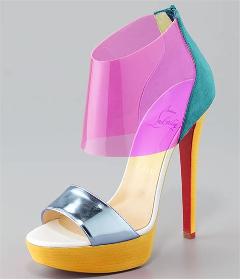 Christian Louboutin Hyde Park Sandals by Makes A Stylish Appearance On 106 Park In