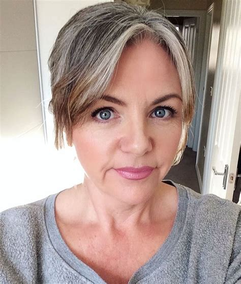 lovely grey streak hair lovely grey streak hair grey streak in hair google