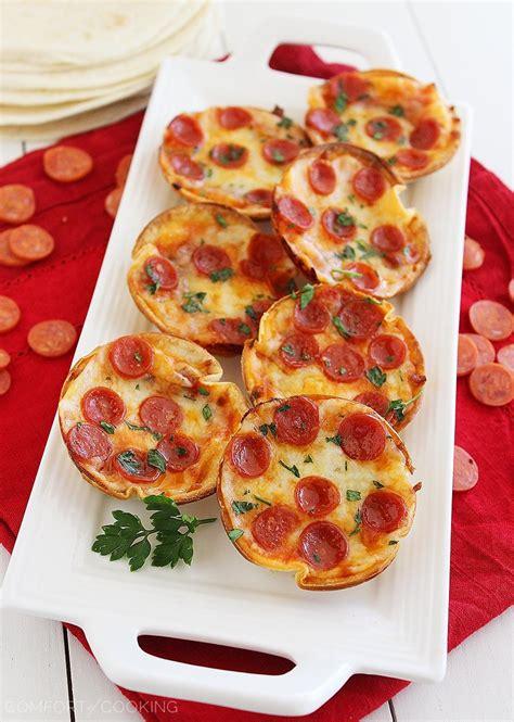 the comfort of cooking the comfort of cooking 187 easy mini tortilla pizzas