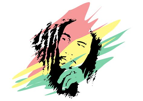 bob marley colors bob marley colors transparent png stickpng