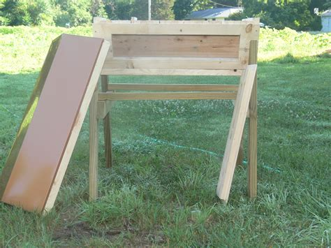 top bar hives in cold climates cold climate top bar beehive with legs