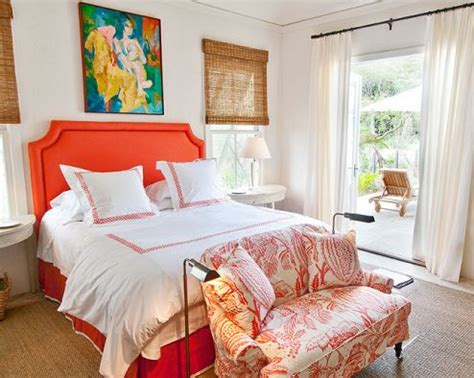 Orange Upholstered Headboard by 140 Best Images About Decorating With Orange Turquoise