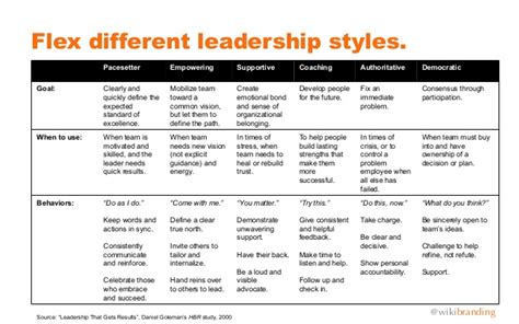 pacesetter leadership definition lessons in leadership from an accidental ceo