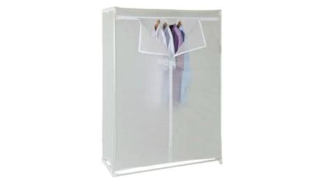 Plastic Wardrobe Tesco Covered Tidy Rail Wardrobe Plastic Requires
