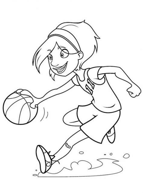 m words coloring pages diannedonnelly com girl playing basketball coloring page diannedonnelly com