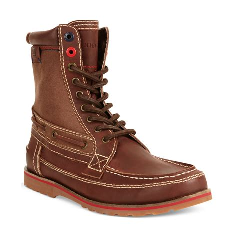 hilfiger boots hilfiger hawk boots in for wine lyst