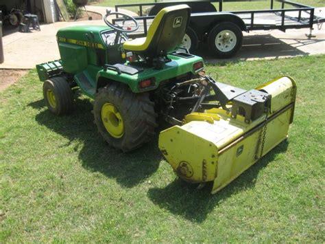 jd  mechanical tiller   john deere tractor forum