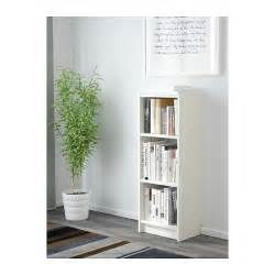 Narrow Billy Bookcase Billy Bookcase White 40x28x106 Cm Ikea