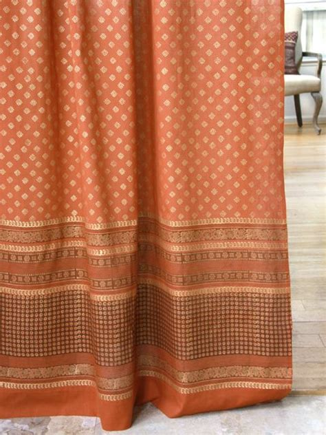 Rust Colored Kitchen Curtains 25 Best Ideas About Burnt Orange Curtains On Pinterest Burnt Orange Decor Burnt Orange