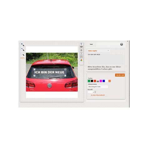 Aufkleber Auto Heckscheibe Selber Gestalten aufkleber f 252 r auto heckscheibe selber gestalten und