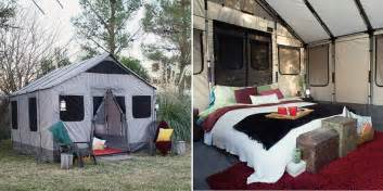Sustainable off grid living in a safari tent home design garden