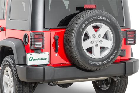 tail l guards jeep wrangler rugged ridge elite tail light guards for 07 18 jeep