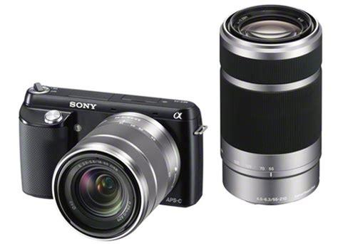 Lensa Sony Nex 5 kamera digital sony kamera sony nex f3y b nex f3 dengan sel1855 sel55210 lens