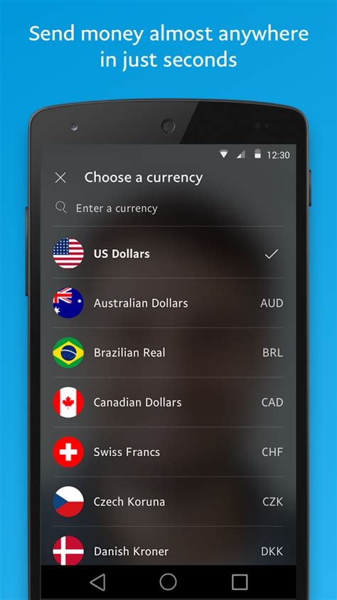 paypal mobile apk paypal 6 20 1 apk android finance apps