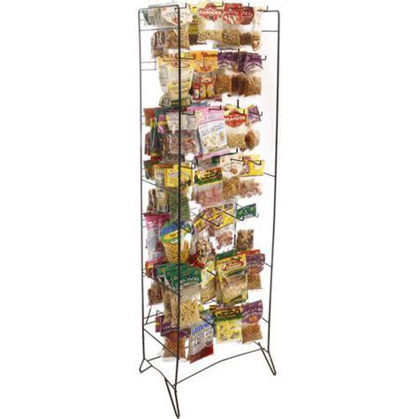 Snack Rack by Wire Display Rack Black Snack Drive Air Designs