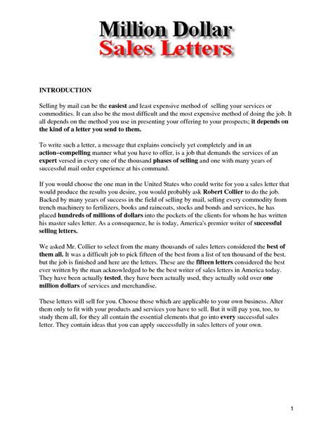 Business Letter Sales Introduction best photos of sales introduction letter business sales