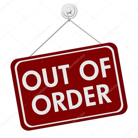 Out Of out of order sign stock photo 169 karenr 40419183
