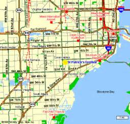 Map Of Miami Area by Map Of Miami Area Submited Images