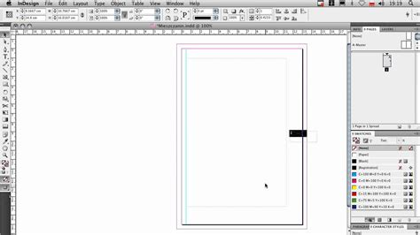 indesign creating a master page praca z master pages w indesign youtube