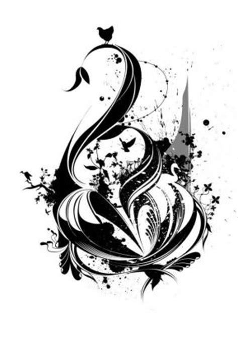 tribal swan tattoo designs swan pic from itattooz