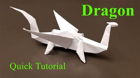 dragon origami tutorial easy easy origami dragon how to make an origami dragon quick