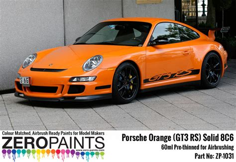 porsche yellow paint code porsche paint 60ml zp 1031 zero paints