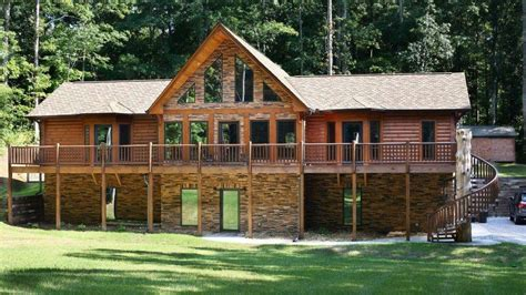 Log Cabin Homes In Tennessee by Portfolio Kozy Log Cabins