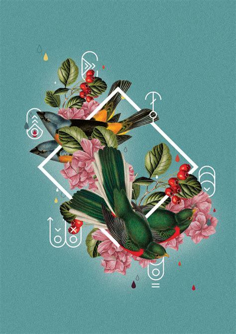 designspiration illustration foto collage poster designspiration taste of thunder