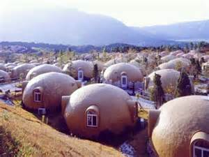 Japanese Dome House Dome House Futuristic Japan Geodesic Dome Homes