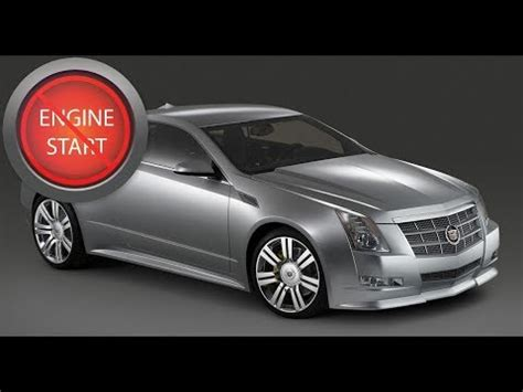 cadillac cts, elr and chevy corvette: open, start push