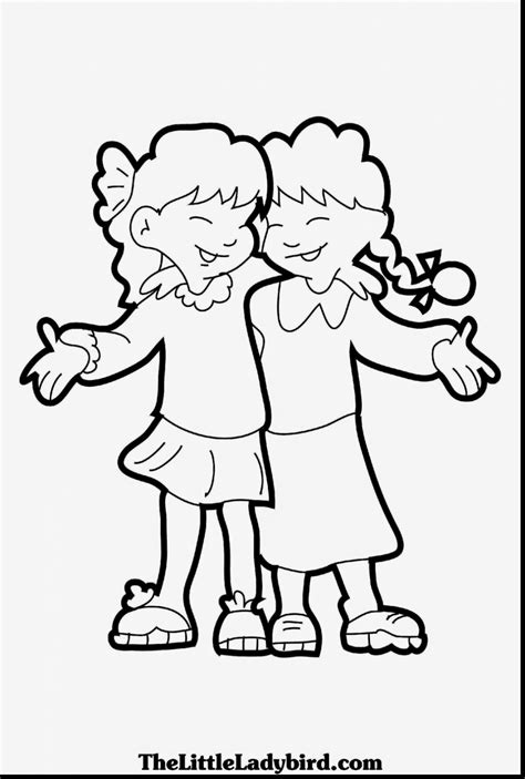 Friendship Coloring Page For Preschool Coloring Page Pedia Friendship Coloring Pages For Preschool