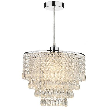 Easy Fit Ceiling Light Shades Chandelier Lighting Dionne Easy Fit Ceiling Light Shade