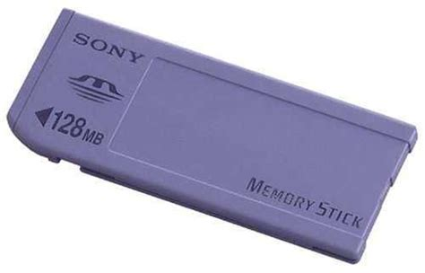 Sonys Pink Memory Stick Micro by Sony Memory Stick 128mb
