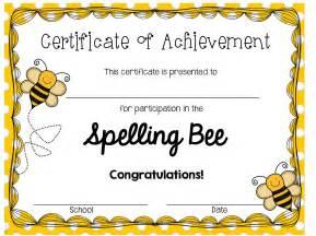 best 25 bee certificate ideas on spelling bee