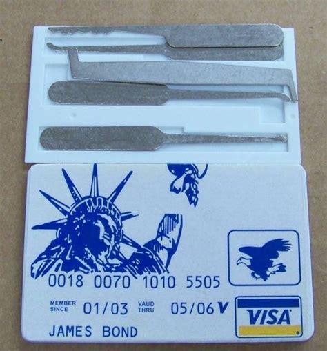 Credit Card Lock Set lock set gadgetking