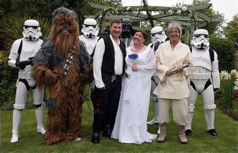 imagenes de novias locas bodaestilo 187 boda friki de star wars