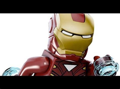 lego marvels avengers iron man full walkthrough youtube