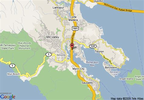 map of sausalito area travelodge mill valley sausalito mill valley deals see